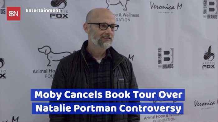 Moby's Drama With Natalie Portman Ends With A Canceled Book Tour
