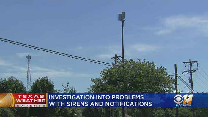 Investigations Underway In 3 Tarrant County Cities Into Problems With Sirens, Notifications
