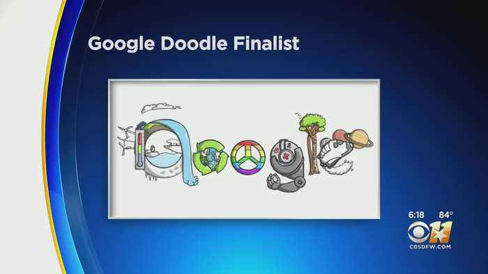 North Texas Student Is Google Doodle Finalist