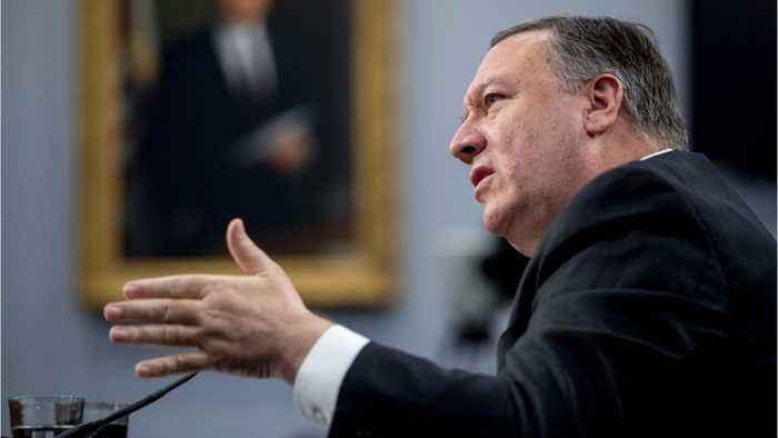 Pompeo Claims Iran Responsible For Attack On Oil Tankers