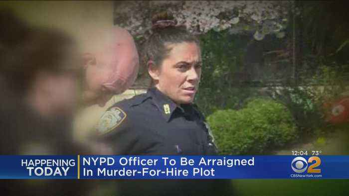 NYPD Officer To Be Arraigned In Murder-For-Hire Plot