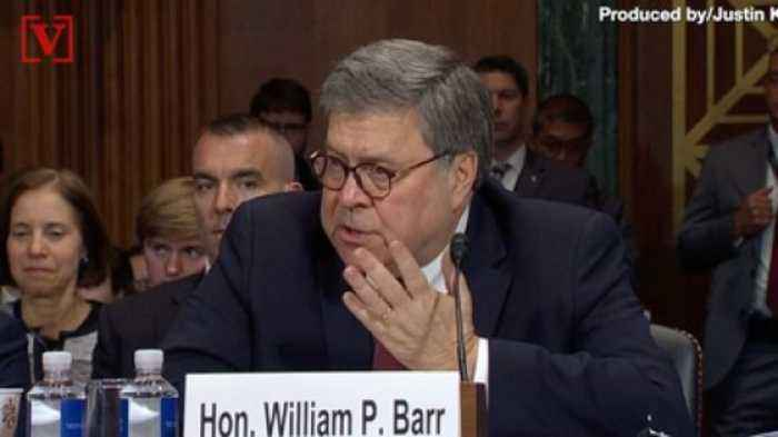AG William Barr Doesn't Agree with Trump's Treason Claims for Obama-era Justice Officials