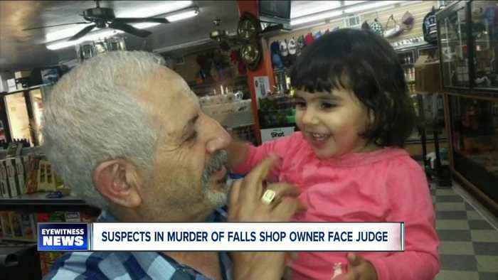 Suspects in murder of Falls shop owner face judge