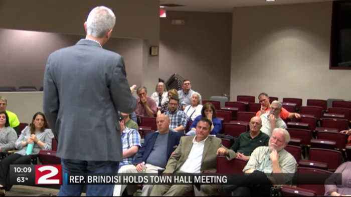 Brindisi town hall meeting at HCCC