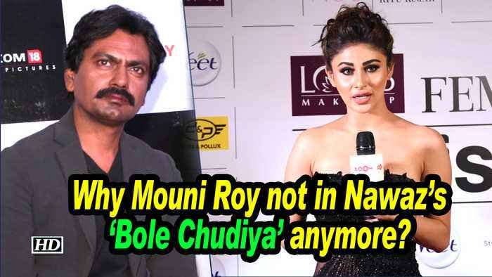 Why Mouni Roy not in Nawaz's 'Bole Chudiya' anymore ?