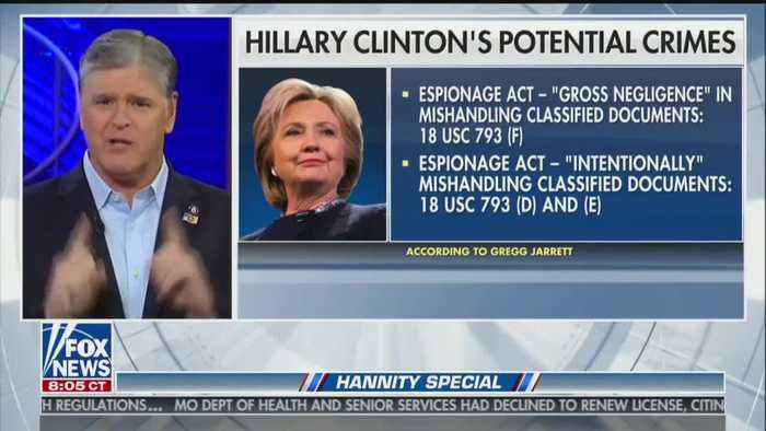 """Sean Hannity delivers monologue about the """"deep state"""""""