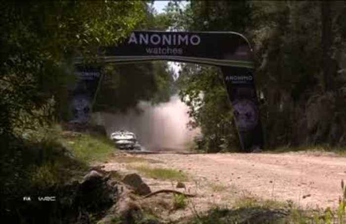 Tanak leads Portugal rally with Meeke, Neuville and Ogier chasing