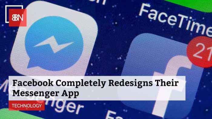 FB Totally Redesigns Messenger App