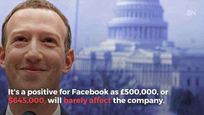 Facebook UK Fine Turns Out Not To Be Any Big Deal