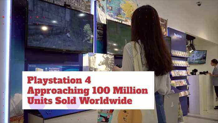 Playstation 4 Is Hitting 100 Million Unit Mark In Sales
