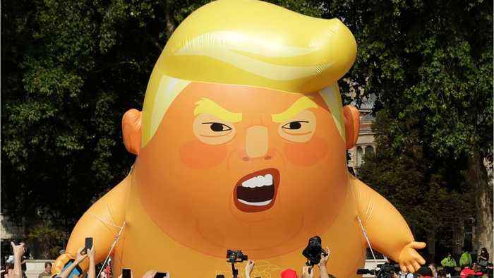 'Trump Baby' Blimp to Fly In London For U.S. President's Visit
