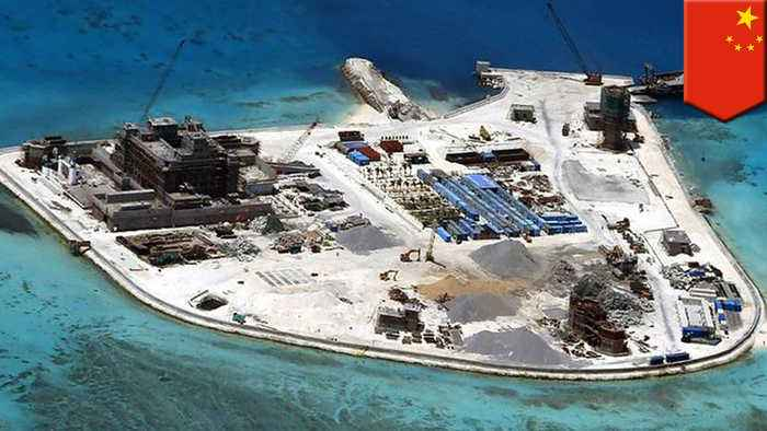 China achieves military goals, slows building in South China Sea