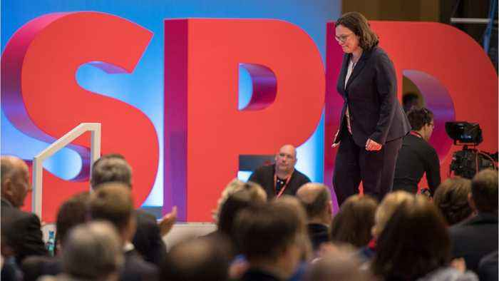 German SPD leader quits In blow to Merkel's loveless coalition