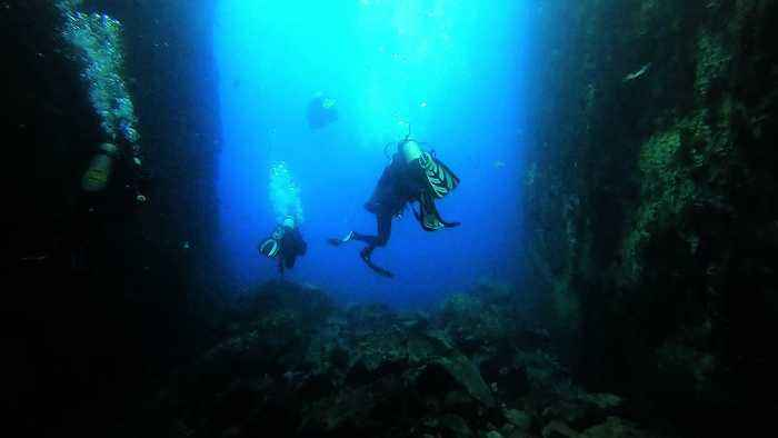 Ocean depths call to the souls of scuba divers