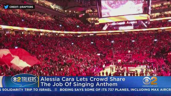 NBA Finals Crowd Takes Over National Anthem