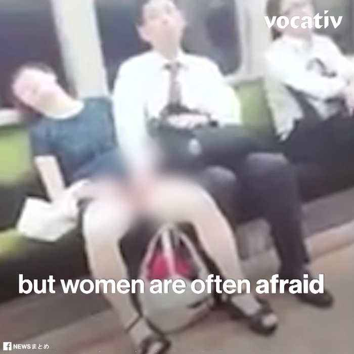 Gropers Out! - Japanese Fight Sexual Harassment in Both Traditional and Smart Ways
