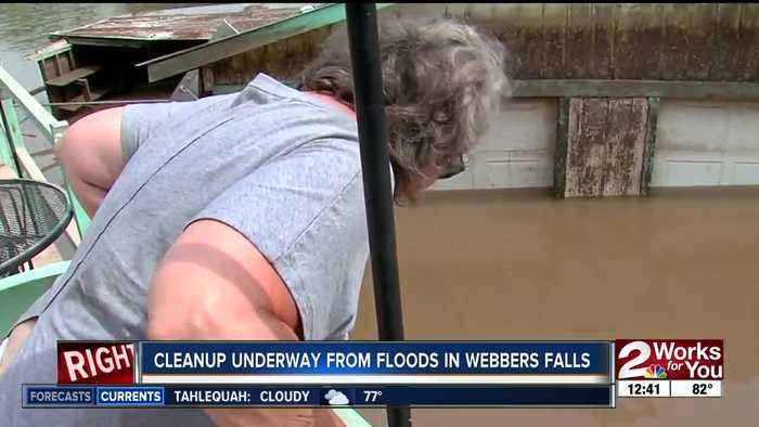 NEWSLOCAL NEWS Webbers Falls homeowners return to homes after devastating flooding