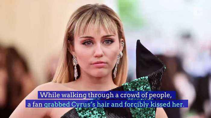 Miley Cyrus Assaulted by Fan During Trip to Spain