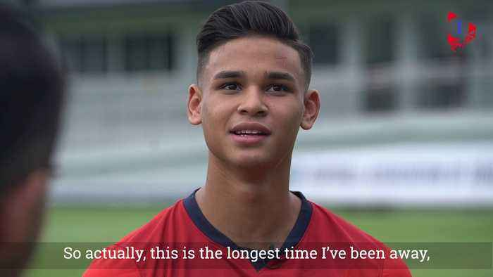 Irfan Fandi Talks About Life On & Off The Field