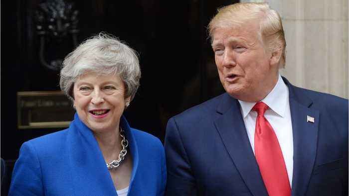 Trump Says UK And U.S. Can Do A Phenomenal Post-Brexit Trade Deal