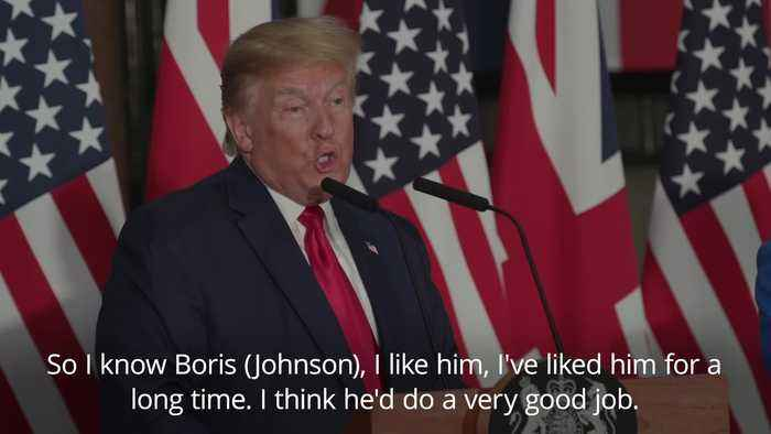 Donald Trump: I refused meeting with Jeremy Corbyn