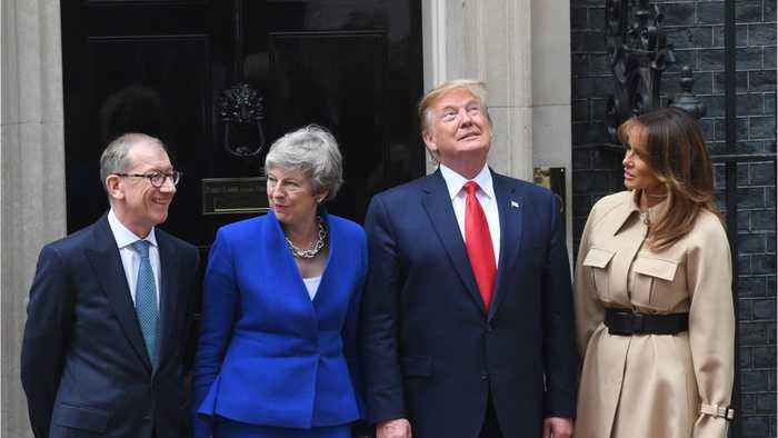 Trump Insists That Britain's NHS Must Be Part Of A Post-Brexit Deal with UK