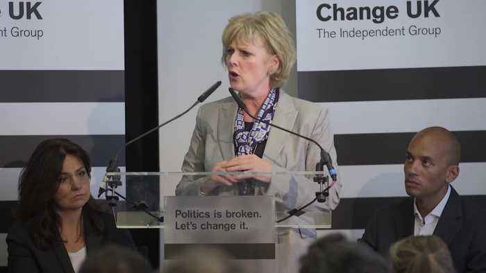 Change UK: Six MPs quit as Anna Soubry becomes leader