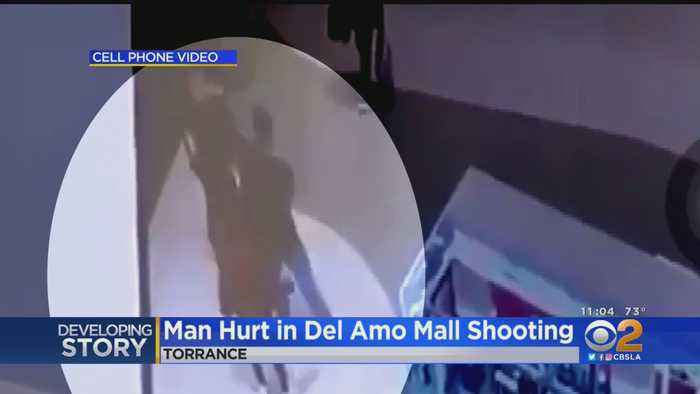New Video Shows Moments Before Man Is Shot At Del Amo Mall