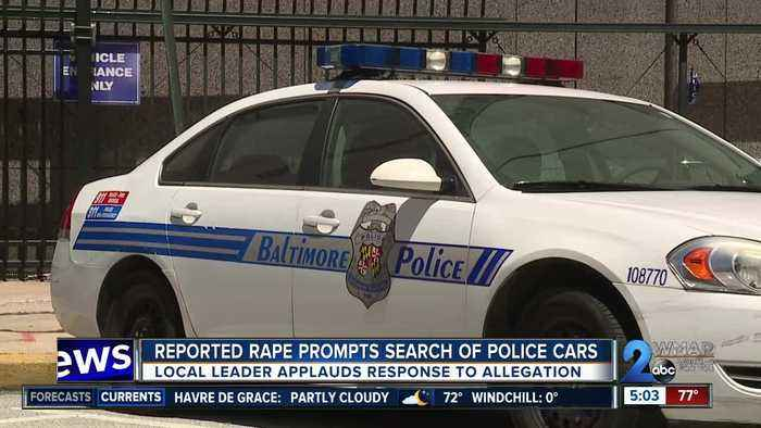 Alleged rape prompts search of BPD patrol cars