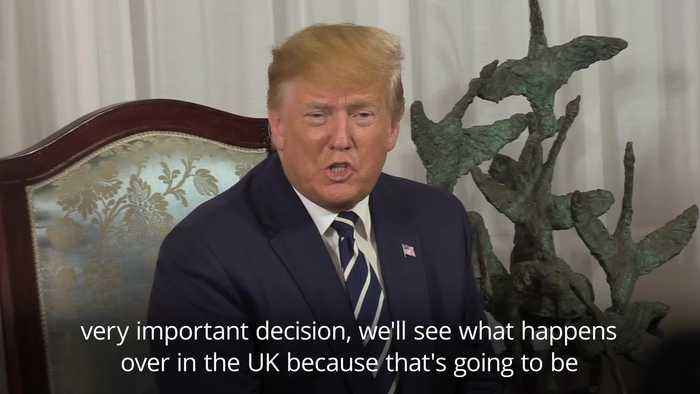 Donald Trump: Irish border won't be an issue for Brexit
