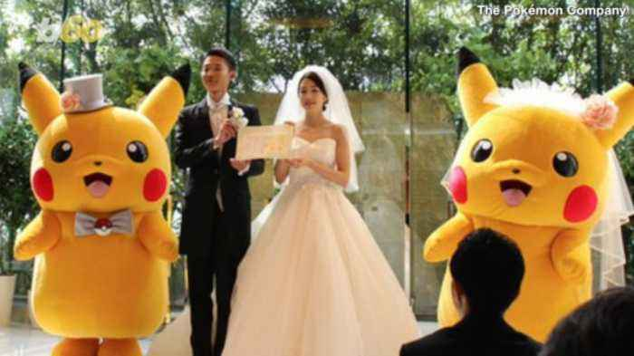 Pikachu Can Now Be Your Best Man With an Official Pokémon Wedding