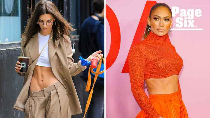 Emily Ratajkowski and J.Lo's well-earned bods are 'ab'-solutely sexy