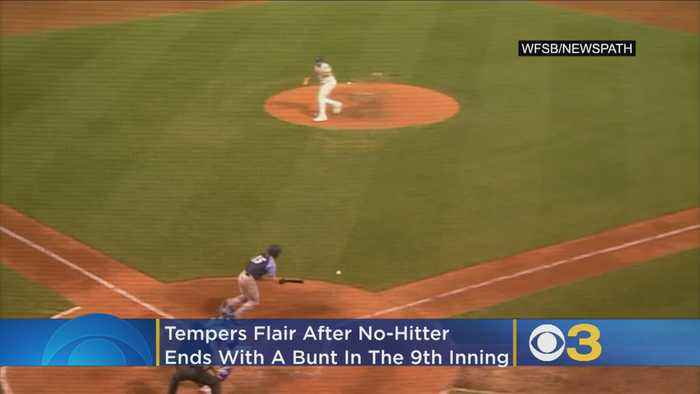 Benches Clear Following Game After Thunder Player Breaks Up No-Hitter With Bunt In 9th Inning