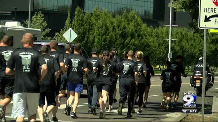 Special Olympics athletes, police take part in annual Torch Run
