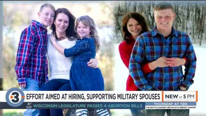 Wisconsin becomes first state designated for military spouse services