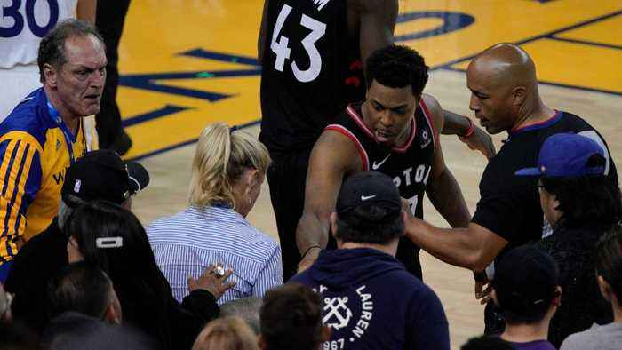 Kyle Lowry Explains Why He Was Mad During The Latest Game