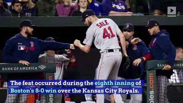 Chris Sale Throws Another Immaculate Inning