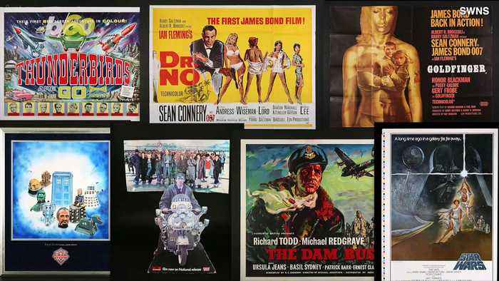 Movie Poster Collection Feat. Original Star Wars & James Bond Posters Worth Over $216,000 At Auction!
