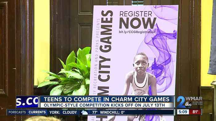 Baltimore teens to compete in first ever Charm City Games