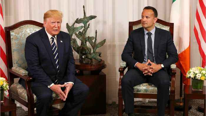 Trump looking to reassure Ireland that Brexit will work out just fine
