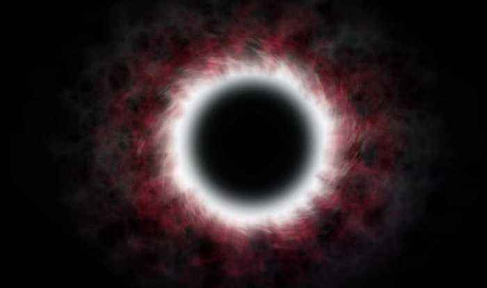 Gassy Ring Found Around Black Hole