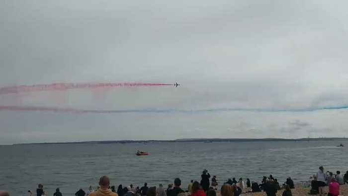 Royal Air Force Display Marks D-Day in Portsmouth