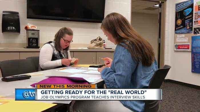 Job Olympics help students prep for life after high school