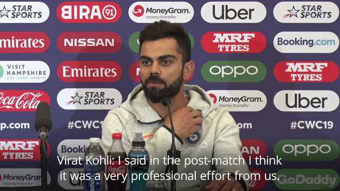Virat Kohli: We were 'professional' with victory over South Africa