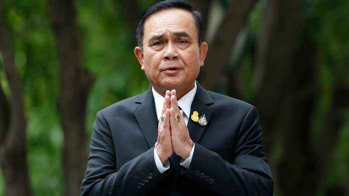 Military government chief Prayuth Chan-ocha elected Thai PM