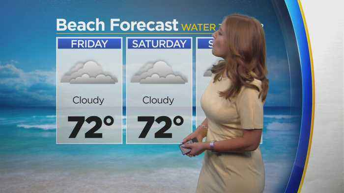 Meg McNamara Has Your Weekend Beach Forecast