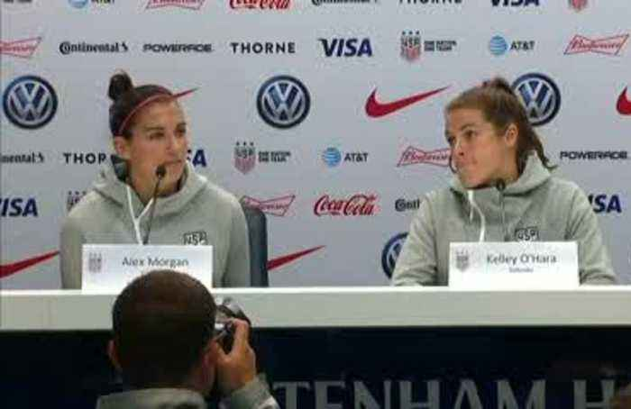 Early Olympics bow out motivation for U.S. going into the World Cup – Alex Morgan
