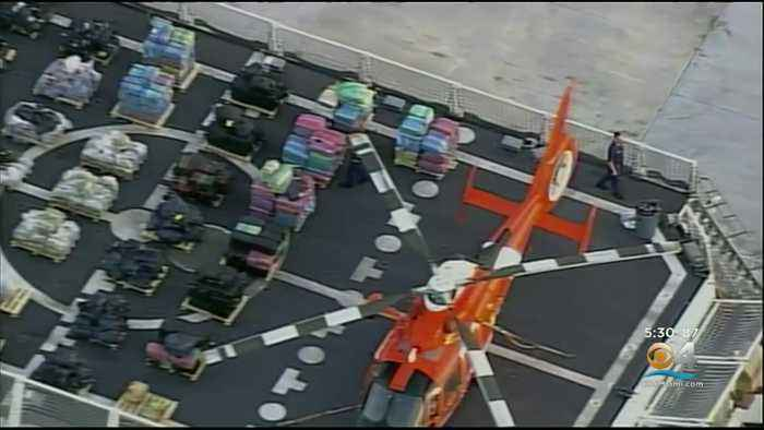 Millions Worth Of Drugs Offloaded By Coast Guard At Port Everglades