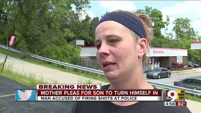 Mother of shooting suspect pleads for him to surrender