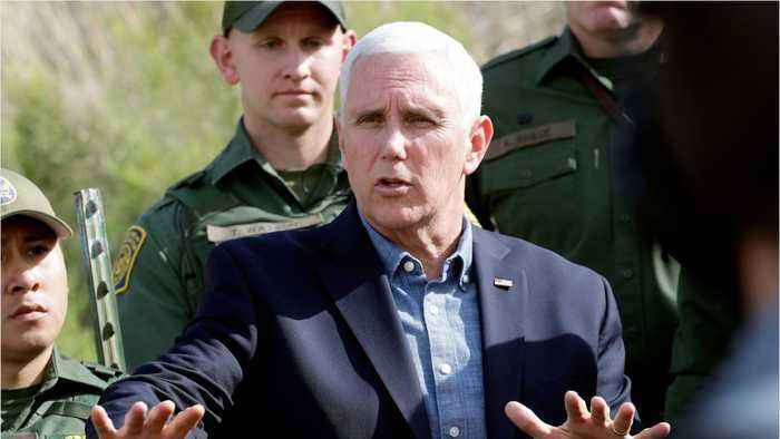 Pence Encouraged By Mexico